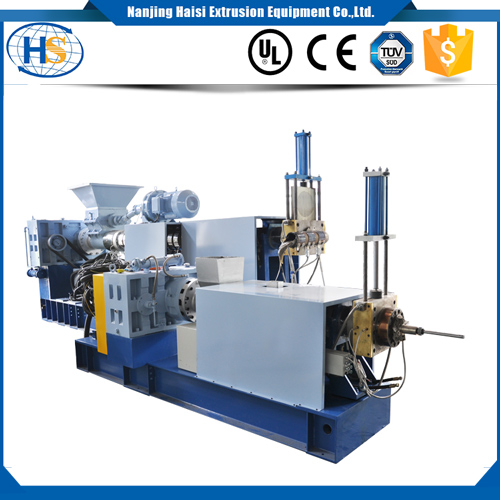 400kg/h Plastic recycling and pelletizing granulator for waste plastic film
