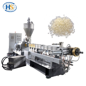 Polyvinyl Chloride / PVC Granules Extruder for Periwig Material