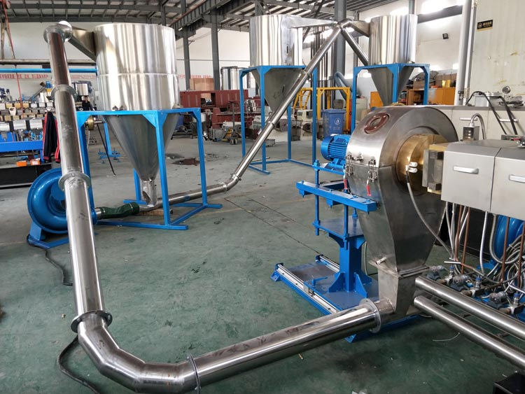 Aircooling-hot-cutting-line