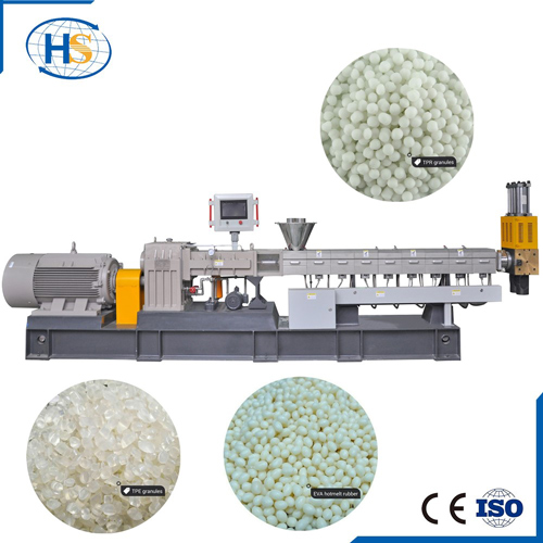 Hot Sale TPE/TPU/TPR Plastic Twin Screw Extruder