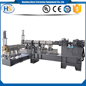 Cost-effective PP/PE film recycling granules making extruder machine