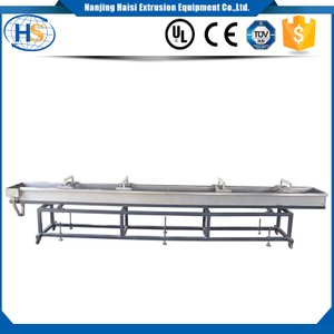Water bath/ Quenching bath/ Cooling bath/ Water trough in Plastic Strand Pellet Extrusion Line