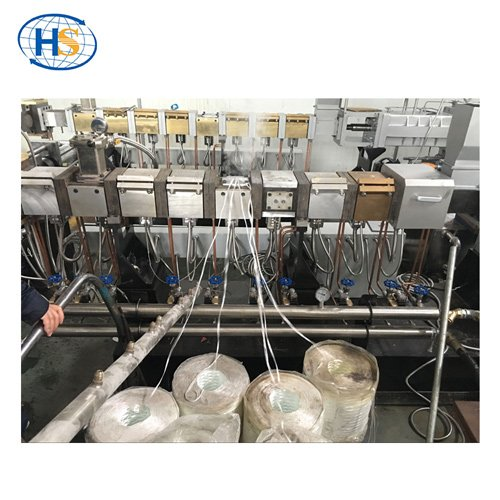 Modification PC/ABS Engineer Plastic Compound Twin Screw Extruder
