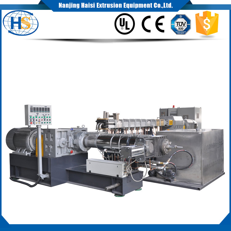 Two-stage Extruder Machine Set with Air-cooling Diehead