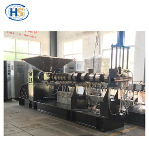 Nylon Net Recycle Two Stage Single Screw Extruder Machine