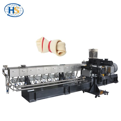 Special design Twin Screw Extruder Machine for Dog Treat Making