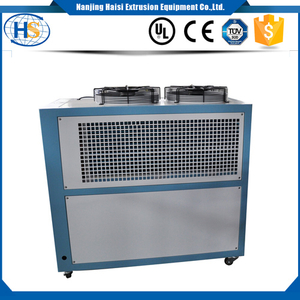 Plastic extrusion machine water cooling system industrial chiller refrigerator with fan
