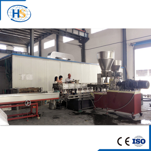 High Capacity PP + Glass Fibre Twin Screw Compounding Extruder